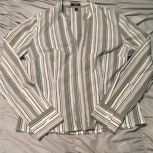 Jacob Striped Structured Shirt